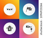 modern  simple vector icon set... | Shutterstock .eps vector #1096923266