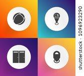 modern  simple vector icon set...   Shutterstock .eps vector #1096923290