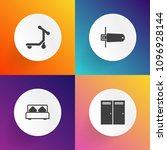 modern  simple vector icon set...   Shutterstock .eps vector #1096928144