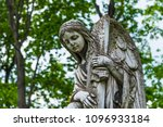 russia  moscow  necropolis of... | Shutterstock . vector #1096933184