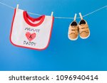 baby concept with shoe... | Shutterstock . vector #1096940414