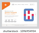 quality one page generic... | Shutterstock .eps vector #1096954934