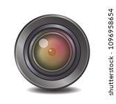 camera photo lens  vector...   Shutterstock .eps vector #1096958654