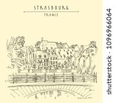 strasbourg  france  europe....   Shutterstock .eps vector #1096966064