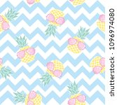vector seamless pattern with... | Shutterstock .eps vector #1096974080
