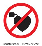 no access with pacemaker    Shutterstock .eps vector #1096979990