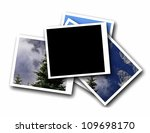 Blank Photo Frame  Isolated On...