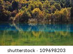 Colorful Beautiful Lake In...