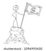 cartoon stick man drawing... | Shutterstock .eps vector #1096993430