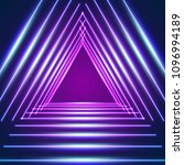 bright neon lines background... | Shutterstock .eps vector #1096994189