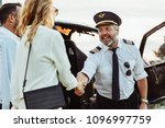 Helicopter Pilot Shaking Hands...