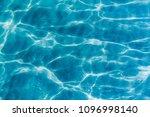 background shot of aqua sea... | Shutterstock . vector #1096998140