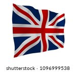 waving flag of the great... | Shutterstock . vector #1096999538