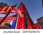 new york city  ny  usa  ... | Shutterstock . vector #1097025074