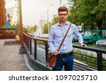 going home after office.... | Shutterstock . vector #1097025710