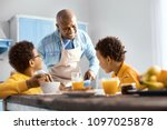 happy family. cheerful young...   Shutterstock . vector #1097025878