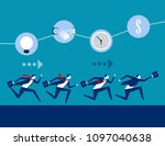 business and competition ... | Shutterstock .eps vector #1097040638