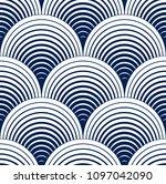 seamless geometric pattern.... | Shutterstock .eps vector #1097042090