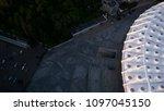 kiev ukraine may 12  aerial... | Shutterstock . vector #1097045150