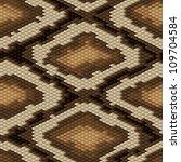 seamless python snake skin... | Shutterstock .eps vector #109704584