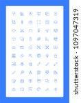 graphic design minimalistic... | Shutterstock .eps vector #1097047319