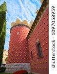 figueres  girona spain   july...   Shutterstock . vector #1097058959