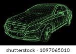 the model sports a premium... | Shutterstock .eps vector #1097065010