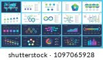 business inforgraphic design... | Shutterstock .eps vector #1097065928