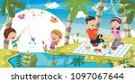 vector illustration of family...   Shutterstock .eps vector #1097067644