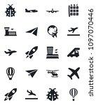 set of vector isolated black... | Shutterstock .eps vector #1097070446