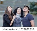 portrait of successful business ... | Shutterstock . vector #1097072510