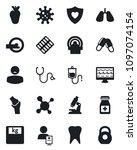 set of vector isolated black...   Shutterstock .eps vector #1097074154