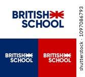 british school foreign language ... | Shutterstock .eps vector #1097086793