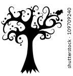 art tree beautiful | Shutterstock .eps vector #109709240