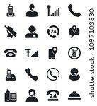 set of vector isolated black... | Shutterstock .eps vector #1097103830