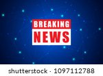 vector news background ...   Shutterstock .eps vector #1097112788