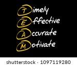 team   timely  effective ...   Shutterstock .eps vector #1097119280