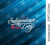 4th of july united states... | Shutterstock .eps vector #1097132366