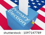 3d illustration of primary... | Shutterstock . vector #1097147789