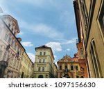 architecture of praha | Shutterstock . vector #1097156630