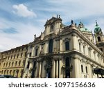 architecture of praha | Shutterstock . vector #1097156636