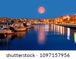 view of boats and beautiful... | Shutterstock . vector #1097157956