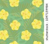 vector illustration  seamless... | Shutterstock .eps vector #1097159984