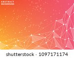 geometric graphic abstract...   Shutterstock .eps vector #1097171174