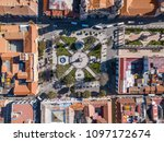 aerial view of the square... | Shutterstock . vector #1097172674