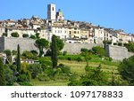 landscape view of the historic... | Shutterstock . vector #1097178833