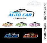 auto car logo for sport cars ... | Shutterstock .eps vector #1097219870