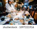 kobe  japan   august 21  2017 ...   Shutterstock . vector #1097221916