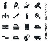 set of simple vector isolated... | Shutterstock .eps vector #1097226779