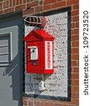 boston apr 20  red fire alarm...   Shutterstock . vector #109723520